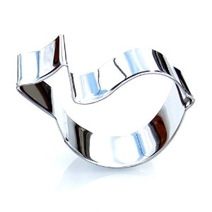 Baby Bird Cookie Cutter- Stainless Steel by Sweet Cookie Crumbs