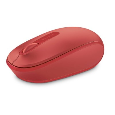 Microsoft Wireless Mobile Mouse 1850, Flame Red (U7Z-00031) 並行輸入