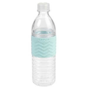 Copco 2510-2182 Chevron Hydra Bottle, 16.9-Ounce, Robins Egg Blue by Copco