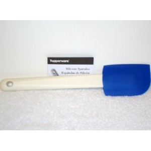 Tupperware Saucy Silicone Spatula Scraper ~ Blue by Tupperware