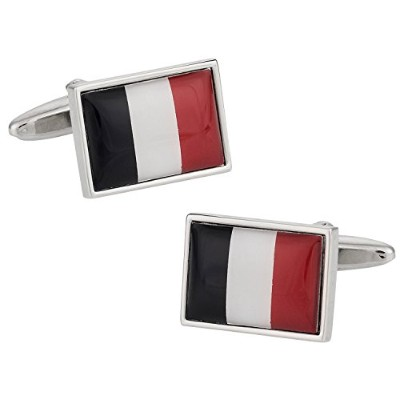 Cuff - Daddy France Flag Cufflinks Withプレゼンテーションボックス
