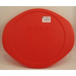 Pyrex Red Plastic Lid for 2 Qt Round Baking Dish by Pyrex
