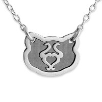 Two-Tone 925 Sterling Silver Belcho Zodiac Taurus Horoscope Necklace (22 Inches)