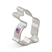 Ann Clark Sitting Bunny Cookie Cutter - 3.25 Inches - Tin Plated Steel by Ann Clark Cookie Cutters
