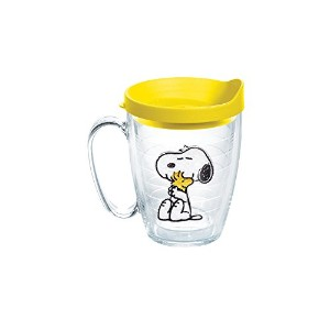 Tervis Peanuts Snoopy and Woodstock Mug with Yellow Lid by Tervis