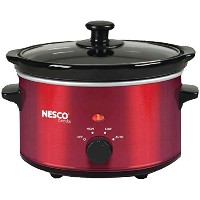 1.5QT SLOW COOKER RED