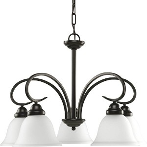 HomeStyle HS41004-125 Five Light Chandelier in Bronze by Progress Lighting