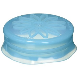 Blossom Mason and Canning Jar Sipping and Drinking Lid Caps, Silicone, For Standard Size Mason Jars...