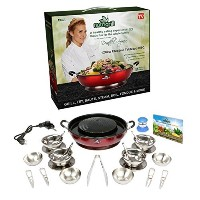 NutriGrill Organic Healthy Food Barbecue Cooker by NutriGrill