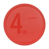 Pyrex - Red 4 Quart Mixing Bowl Lid by Pyrex