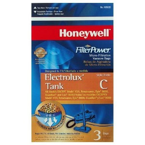 Honeywell h29220micro-filtrationバッグfor most Electrolux Canister Vacs