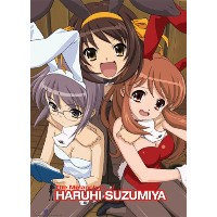 GREAT EASTERN Entertainment Haruhi Best Friendsウォールスクロール、33 x 111.76 X