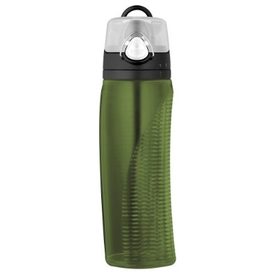 Thermos Intak Hydration Water Bottle with Meter 水筒 680ml グリーン