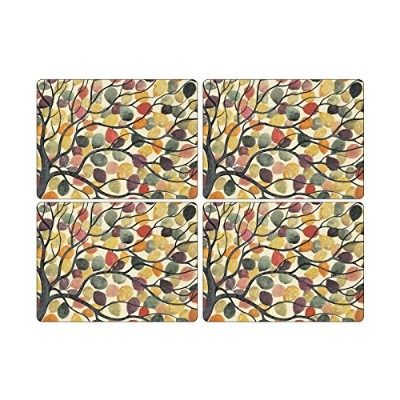 Pimpernel Dancing Branches Placemats - Set of 4 (Large) by Pimpernel