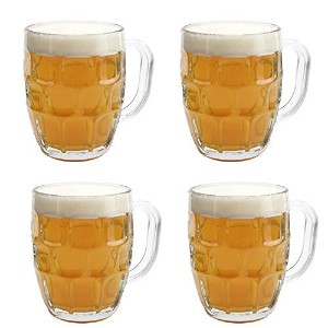 Libbey Dimple Stein Beer Mug - 19.25 oz w/ Pourer by Libbey Glassware