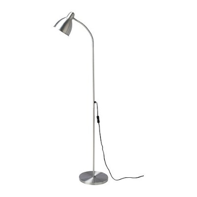 Ikea 201.109.03 Lersta Floor/Reading Lamp, Aluminum by Ikea