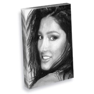 DIANE YOUDALE / DIANE YOUDALE - キャンバスプリント(LARGE A3 - アーティストによって署名されました) #js001