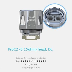 Joyetech ProC Series Heads ProCore Aries 用交換コイル (ProC2 0.15Ω)
