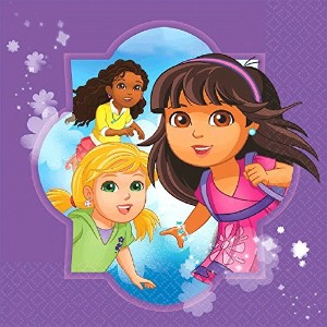 Amscan Dora and Friends Lunch Napkins