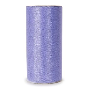 Darice 2913-43 6-Inch-by-25-Yard Sparkle Tulle, Lavender by Darice
