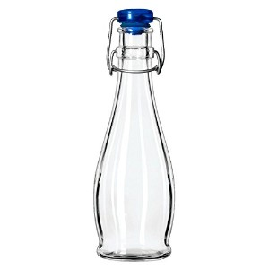 Libbey 13151017 12 oz Water Bottle With Wire Bail Lid - 12 / CS by Libbey