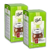 Ball Regular Mouth Lids with Bands - 12 Lids with Bands per Box by Ball