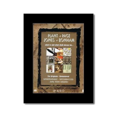 LED ZEPPELIN - What Is and What Shall Always be Mini Poster - 28.5x21cm