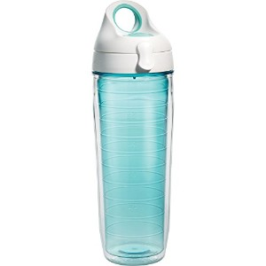Tervis Water Bottle with Lid, 24 oz, Coastal Green by Tervis