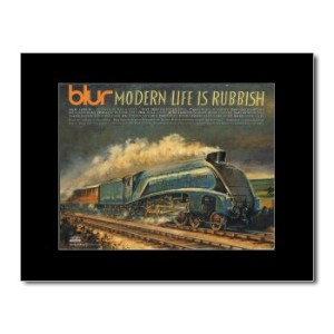BLUR - Modern Life Is Rubbish Matted Mini Poster - 28.5x21cm