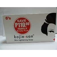Kojie san Skin Lightning Soap 135gram*6`s Family Beauty Pack
