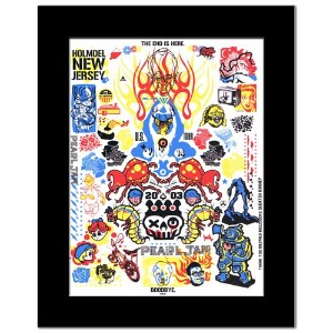 PEARL JAM - Holmdel New Jersey July 14th 2003 Mini Poster - 30.5x23cm