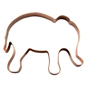 Cute Elephant Cookie Cutter by The Fussy Pup