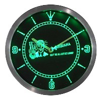 LEDネオンクロック 壁掛け時計 nc0387-g Marijuana High Life Get a Bong Neon Sign LED Wall Clock