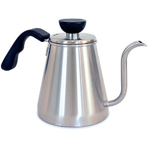 Ovalware RJ3 Pour Over Coffee & Tea Drip Kettle - Stainless Steel Precision Gooseneck Spout...