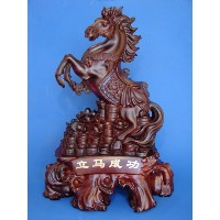 Big Jumping up Horse Statue for Success