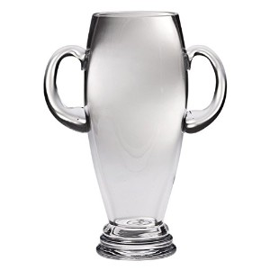 Majestic Gifts Lead Free Crystal Trophy with Two Handles Home Decor, 10-Inch [並行輸入品]