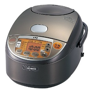 ZOJIRUSHI NP-VN10-TA 5-1/2-Cup (Uncooked) IH Rice Cooker and Warmer, 1.0-Liter by Zojirushi [並行輸入品]