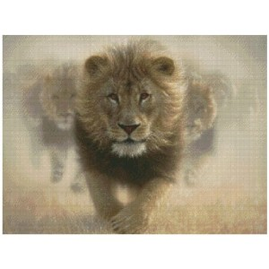 """Eat My Dust Counted Cross Stitch Kit-16""""X12"""" 16 Count (並行輸入品)"""