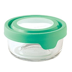 Anchor Hocking 1 Cup True Seal Round Food Storage Container, Light Green Lime by Anchor Hocking