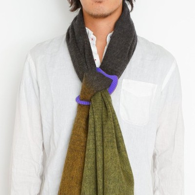 """(紙でできたバックル)scarf buckle """"SUITE OF CLOTH"""" 太陽"""