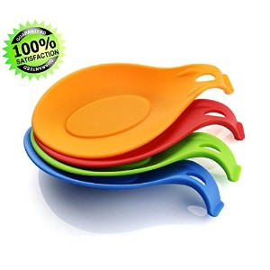 Zotoon Silicone Spoon Rest,Set of 4 by Zotoon