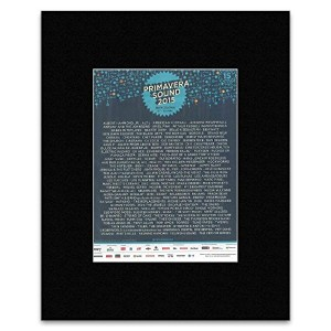 PRIMAVERA SOUND - Barcelona May 27-30th Mini Poster - 28.5x21cm