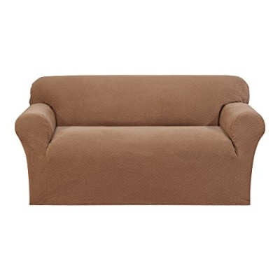 (Loveseat, Sand) - Madison Loveseat Slipcover, Sand
