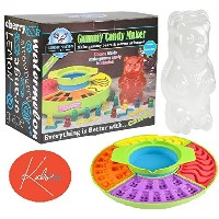 Gummy Candy Maker Set With Electric Heated Gelatin Pot And Molds For Gummy Worms, Bears, Fish,...