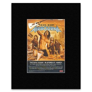 AIRBOURNE - No Guts No Glory Mini Poster - 28.5x21cm