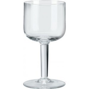 Alessi 'All-Time' Wine Glasses in Crystalline Glass (Set of 4), Transparent [並行輸入品]