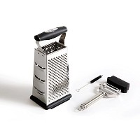 Benchusch 4 Sided Grater Box & Peeler Set - Covers all of your grating and peeling needs - Premium...