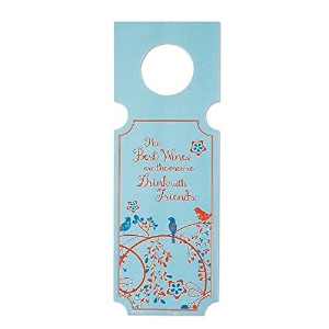C.R. Gibson 10 Count Wine Gift Tags, Wine with Friends [並行輸入品]