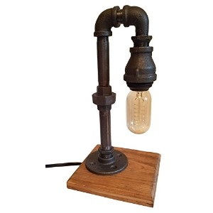 Mr. Willies Little Edison-01 Industrial Pipe Desk Lamp by Mr. Willies