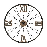 Sterling Industries 129-1088 Iron Wall Clock [並行輸入品]